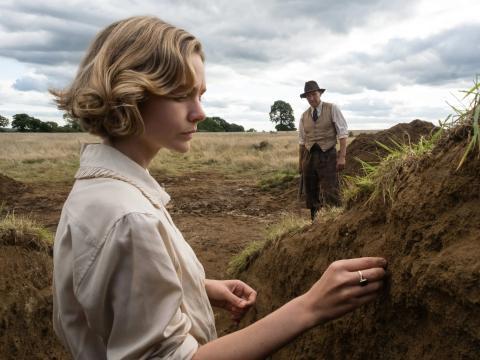 Carey Mulligan en 'La excavación'.