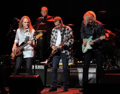The Eagles en un concierto.