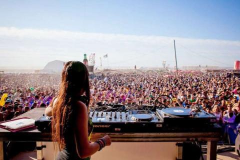 Monegros Desert Festival.