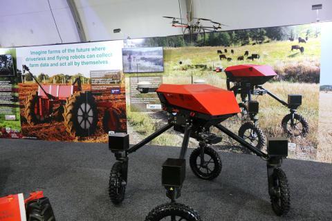Tecnología agrícola del futuro presentada en Australia.