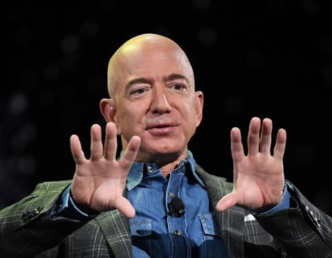 Jeff Bezos en 2019