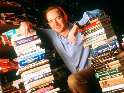 Jeff Bezos en 1997.
