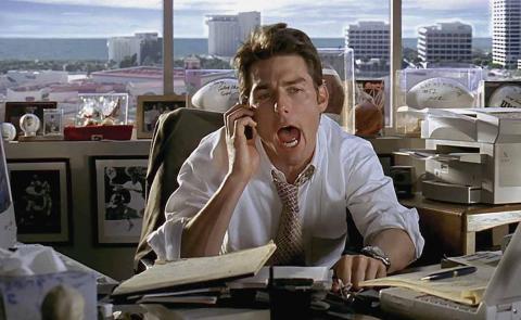 """""""Enséñame tus logros"""": te ordenaría Jerry Maguire si te entrevistara."""