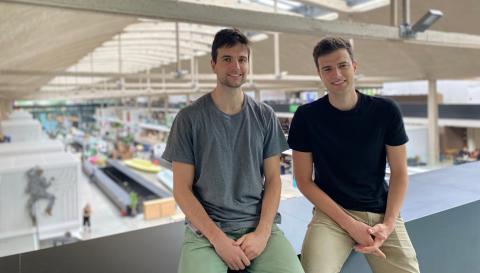 Joan y Jaume Alavedra, cofundadores de Onsite.fun