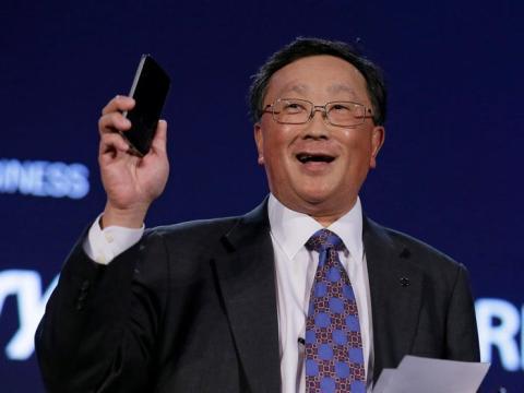 John Chen, consejero delegado de Blackberry.