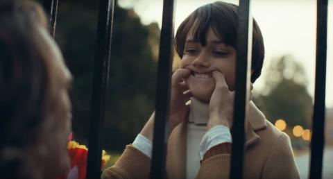La escena del 'Joker' en la que el desventurado protagonista se encuentra con el joven millonario Bruce Wayne.