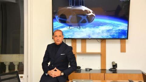 Kemel Kharbachi, CEO y fundador de Eos-X-Space.
