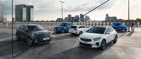 Kia, tercera marca más vendida en España en vehículos electrificados