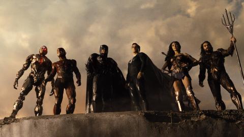 'La Liga de la Justicia de Zack Snyder'.