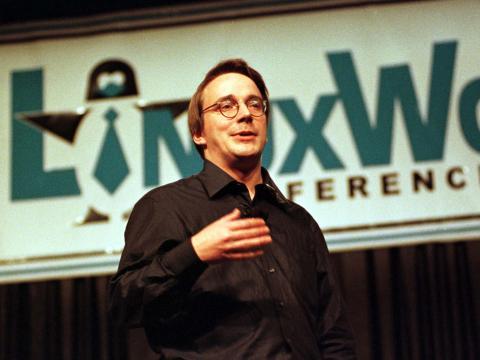 Linus Torvalds en una imagen de archivo