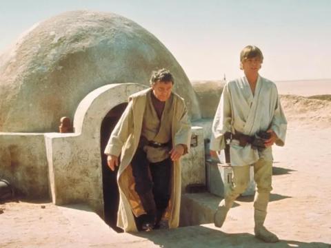 'Star Wars: Episodio IV - Una nueva esperanza'.