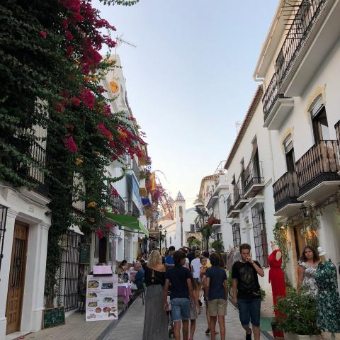 Marbella Old Town.