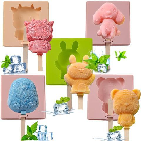 Moldes para helados de animales