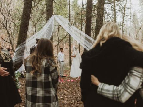 No tienes por qué organizar una boda sencilla si no es lo que quieres.