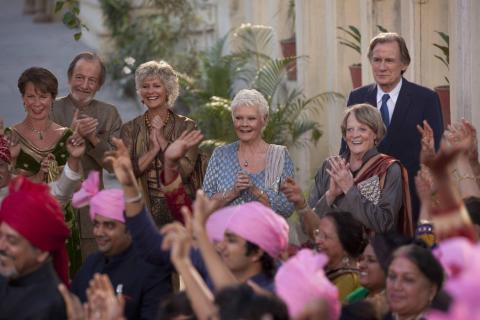 'El nuevo exótico Hotel Marigold'.