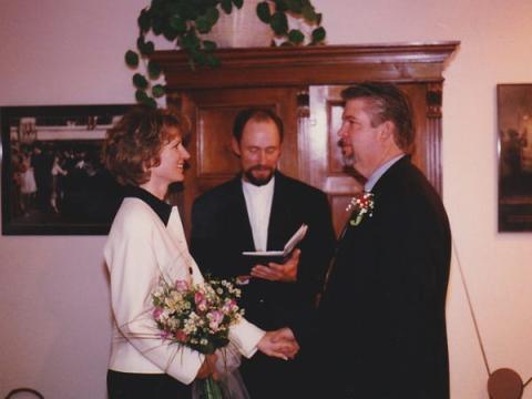 Mis padres no tienen muchas fotos del día de su boda.