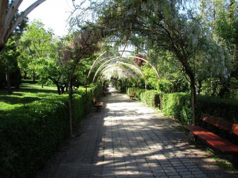 Parque Huerta de los Jesuitas, Salamanca.