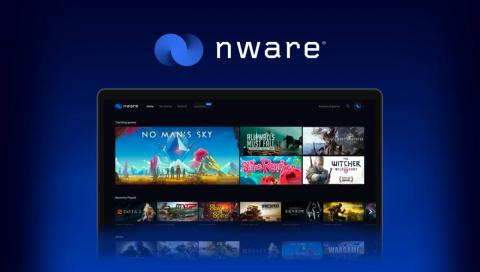 El menú principal de Nware varía dependiendo de los juegos que tengas.