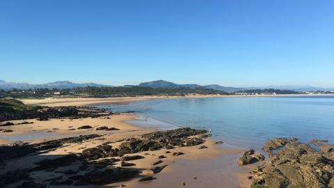 Playa Somo, Cantabria.