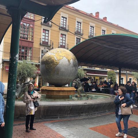 Plaza de España, Valladolid.