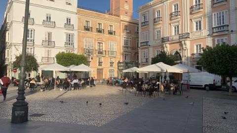 Plaza de San Antonio, Cádiz.