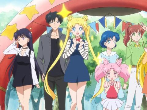 Imagen de 'Pretty Guardian Sailor Moon Eternal: La película', actualmente disponible en Netflix