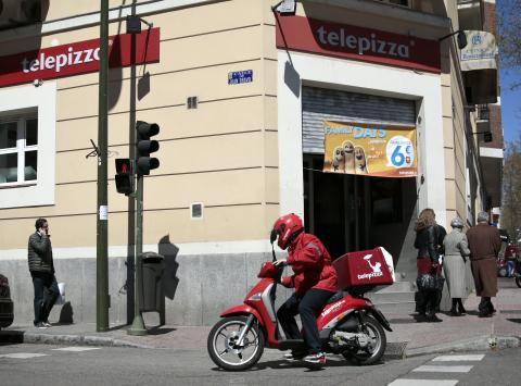 Restaurante de Telepizza