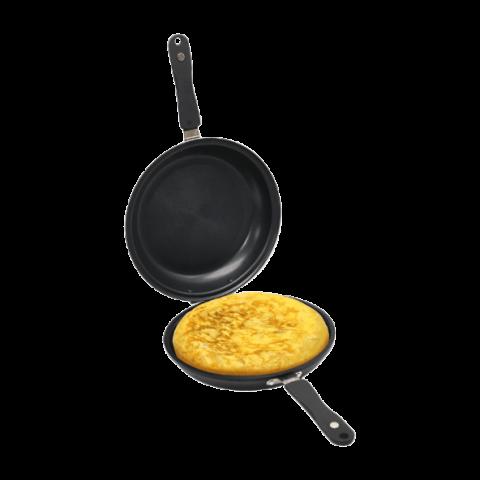 Sartén para tortillas de patata 2 en 1 de Aldi