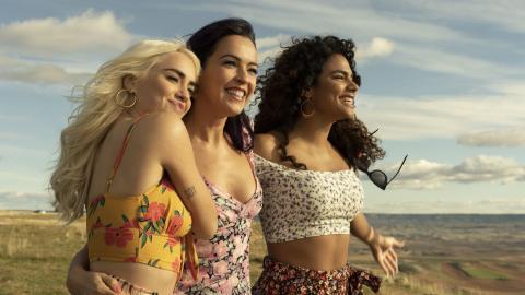 Fotograma de 'Sky Rojo', serie de Netflix.