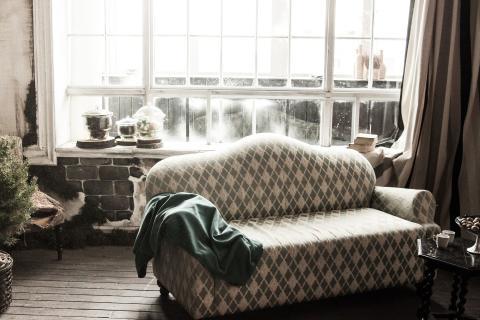 Sofa limpio