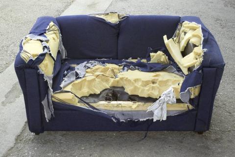 Sofá roto