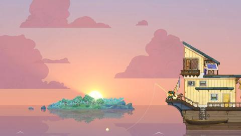 Captura del videojuego 'Spiritfarer'.