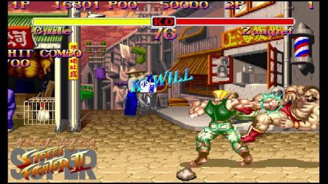 'Street Fighter 2'.