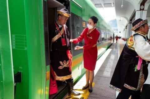 Tren de alta velocidad eléctrico de China