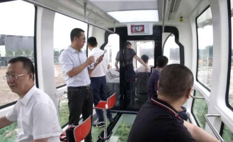 El tren se pensó más para el turismo que para descongestionar el centro urbano.