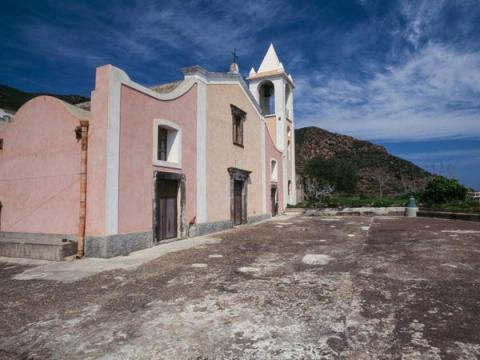 Esta es la única iglesia que tiene la isla.