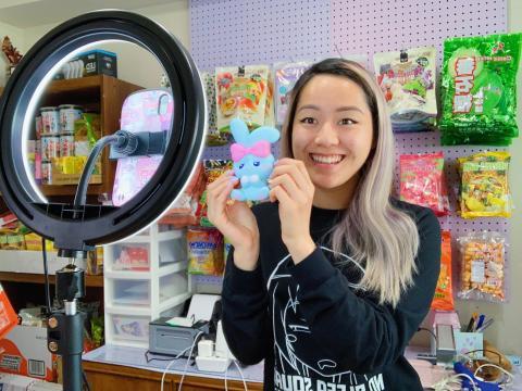 Vivian Nguyen fue una de las primeras vendedoras de la aplicación de compras en directo Popshop Live.