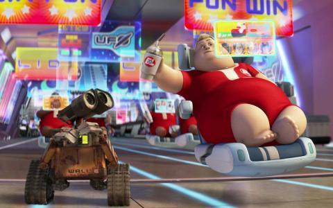 'Wall-E'.