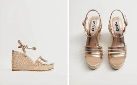 Zapatos de Mango rebajados inspirados en los de Jennifer López.