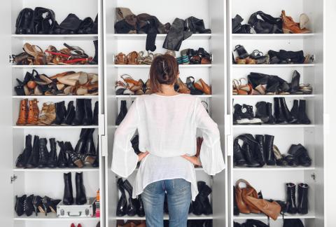 Zapatos de mujer.