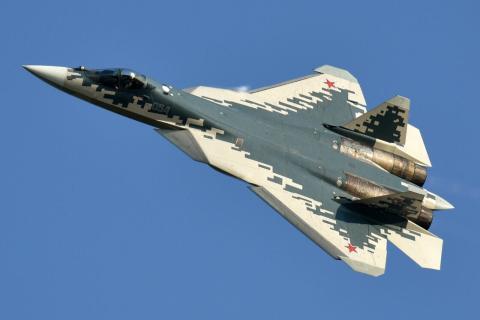 El Su-57 se sumará pronto a la ya amplia flota rusa.