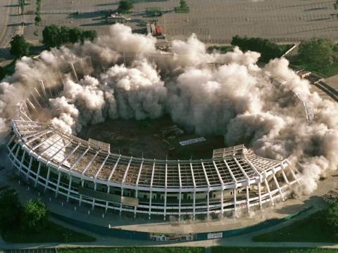 Estadio de Atlanta-Fulton.
