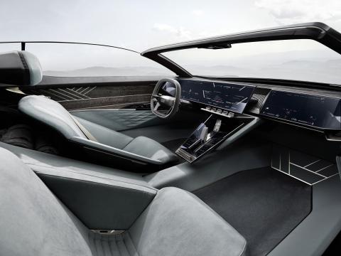 Interior del nuevo Audi Skysphere.