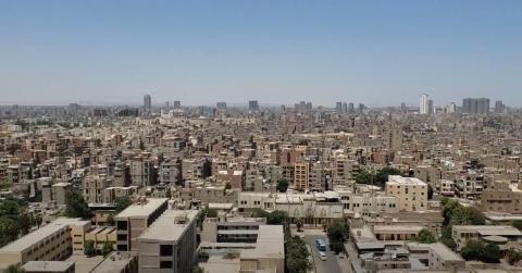 Panorámica de El Cairo desde la Mezquita de Mehmed Ali Pasha, la parte más alta de la Ciudadela.