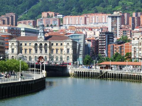 Casco Viejo de Bilbao.