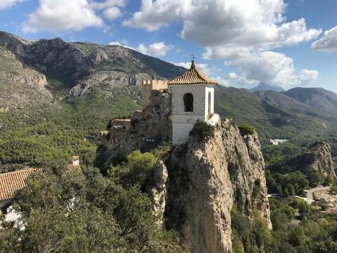 Castell de Guadalest, Alicante.