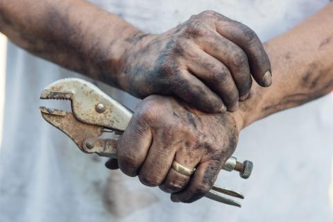 Cómo limpiar las herramientas