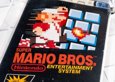 La copia vendida de 'Super Mario Bros.' que ha alcanzado una cifra tan alta.