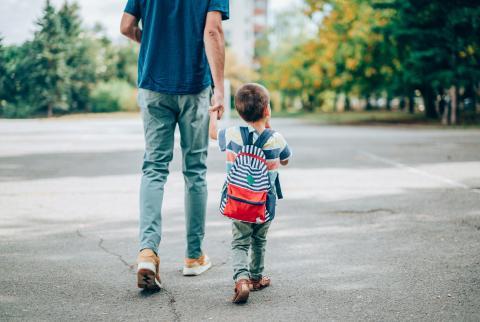 Cuidar de un niño