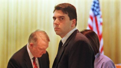 David L. Smith, autor de Melissa, en un juzgado en EEUU.